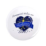 "Indiana Girl 3.5"" Button"