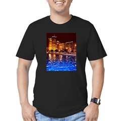 Reflecting Pool Men's Fitted T-Shirt (dark)