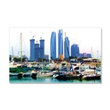 Guarded Marina Car Magnet 20 x 12
