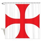 Knights Templar Shower Curtain