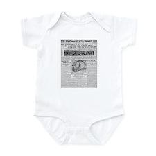1906 San Francisco Earthquake Infant Bodysuit