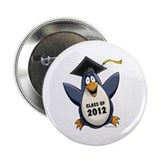 "2012 Graduate Penguin 2.25"" Button (10 pack)"