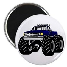 BLUE MONSTER TRUCK Magnet
