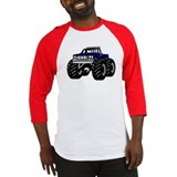 BLUE MONSTER TRUCK Baseball Jersey