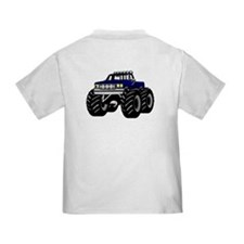 BLUE MONSTER TRUCK T