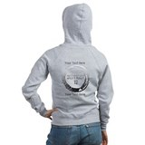 District 12 Your Text Zipped Hoody