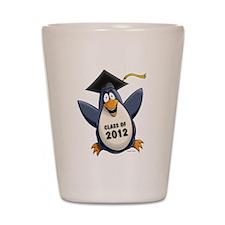 2012 Graduate Penguin Shot Glass