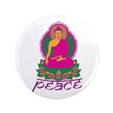 "Buddha Peace 3.5"" Button (100 pack)"