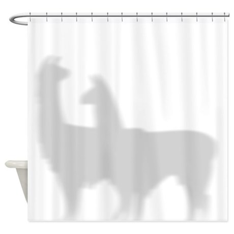 Llamas Shower Curtain