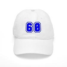 Varsity Uniform Number 60 (Blue) Baseball Cap