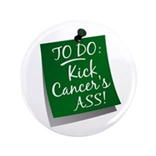 "To Do 1 Liver Cancer 3.5"" Button (100 pack)"