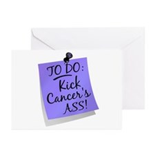 To Do 1 Esophageal Cancer Greeting Cards (Pk of 20