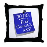 To Do 1 Colon Cancer Throw Pillow