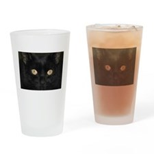 Funny Facing Drinking Glass