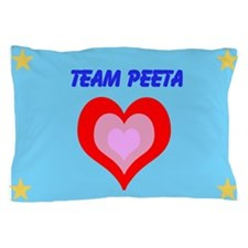 Team Peeta Pillow Case