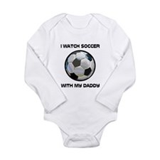 Unique Soccer Long Sleeve Infant Bodysuit