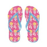 Funny Ballet shoes Flip Flops