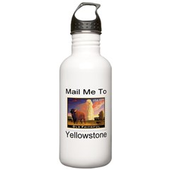 Mail Me To Yellowstone Stainless Water Bottle 1.0L