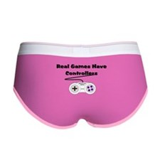 Real Games Have Controllers Women's Boy Brief