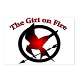 Girl on Fire Postcards (Package of 8)