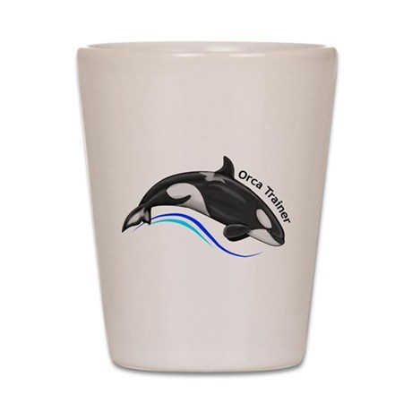 Orca Trainer Shot Glass
