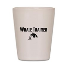 Whale Trainer Light Shot Glass