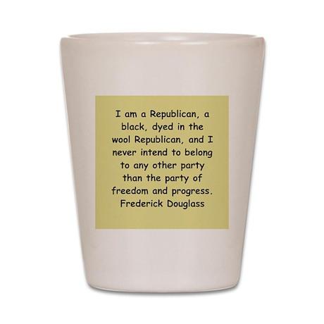 frederick douglass gifts and Shot Glass