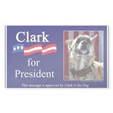 Clark G for President Decal