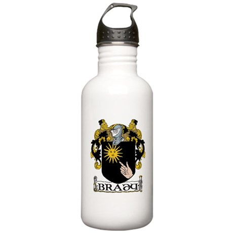 Brady Coat of Arms Stainless Water Bottle 1.0L