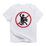 No Spanking Infant T-Shirt