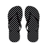 Polka dot Flip Flops