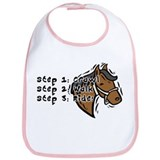 3 Steps Design Bib
