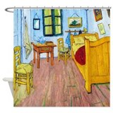 Van Gogh - Bedroom at Arles Shower Curtain