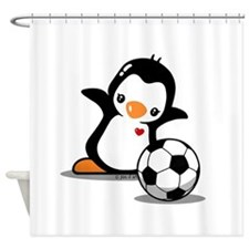 I Like Soccer Shower Curtain