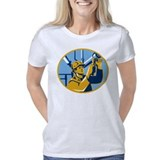 F-8 Crusader Performance Dry T-Shirt