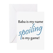 Baba Boy Greeting Cards