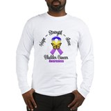 Strength Bladder Cancer Long Sleeve T-Shirt