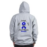 Strength Anal Cancer Zip Hoodie