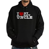 I love My Navy Uncle Hoodie