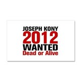 Kony 2012 Wanted Car Magnet 20 x 12