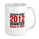 Kony 2012 Wanted Ceramic Mugs