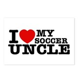I love My Soccer Uncle Postcards (Package of 8)