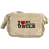 I love My Teacher Uncle Messenger Bag