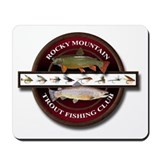 Rocky Mountain Trout Fishing Club Mousepad