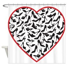 Love shoes Shower Curtain