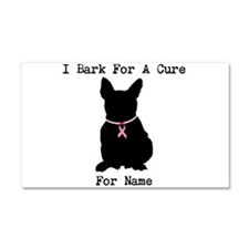 French Bulldog Personalizable I Bark For A Cure Ca