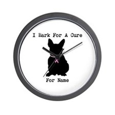 French Bulldog Personalizable I Bark For A Cure Wa