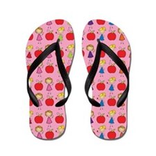 School Teacher Cute Flip Flops