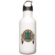 Turquoise Tortoise Dreamcatcher Water Bottle