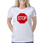 Name Tag Organic Women's Fitted T-Shirt